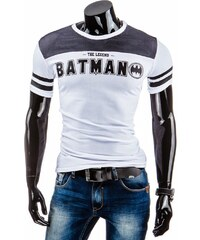 Coolbuddy Pánské tričko s krátkým rukávem a potiskem Batman 5234 Velikost: L