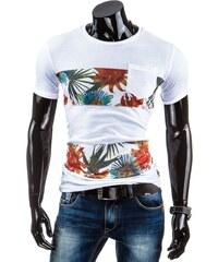 Coolbuddy Pánské tričko s ozdobnými síťovanými pruhy a krátkým rukávem Ringo Black 5260 Velikost: XXL