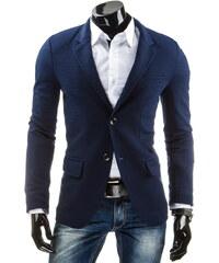 Coolbuddy Cool tmavě modré pánské sako Rost 5273 Velikost: L