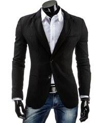 Coolbuddy Pánské sako černé Kod 5320 Velikost: XXL