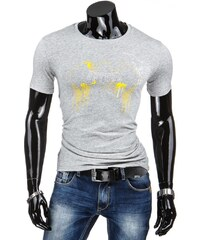 Coolbuddy Pánské tričko s krátkým rukávem a jemným potiskem 5604 Velikost: L