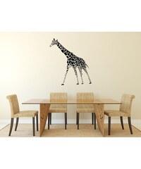 RAWE.CZ - Retro žirafa - Samolepka na zeď - 50x45cm