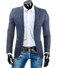 Coolbuddy Džínové sako s hnědým lemováním Mont 7523 Velikost: S