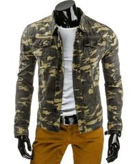 Coolbuddy Pánská maskáčová džínová bunda Kory 7864 Velikost: M
