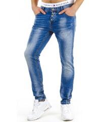 Coolbuddy Modré džíny se zapínáním na knoflíky Busch 8005 Velikost: s33