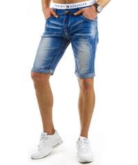 Coolbuddy Pánské džínové kraťasy mírně odřené Style 8012 Velikost: s32
