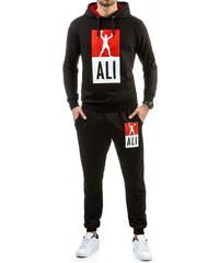Coolbuddy Černá sportovní tepláková souprava Ali 8255 Velikost: XXL