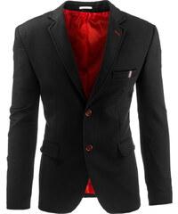 Coolbuddy Černé pánské elegantní sako Ari 8265 Velikost: 3XL