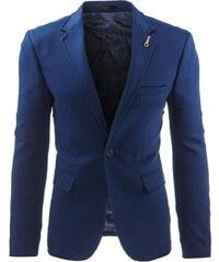 Coolbuddy Elegantní pánské sako modré Azur 8240 Velikost: L