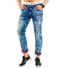 Coolbuddy Pánské sešoupané džíny Fox 8501 Velikost: s32