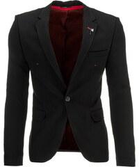Coolbuddy Pánské černé elegantní sako Sopo 8503 Velikost: M