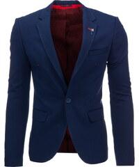 Coolbuddy Pánské tmavě modré elegantní sako Sopo 8506 Velikost: 3XL