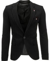 Coolbuddy Pánské černé elegantní sako Lody 8507 Velikost: XXL