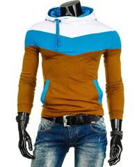 Coolbuddy Pánská mikina s kapucí barevně kombinovaná 3140 Velikost: XXL