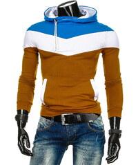 Coolbuddy Pánská mikina s kapucí barevně kombinovaná 3137 Velikost: XL