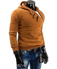 Coolbuddy Pánská mikina s dvouvrstvou kapucí a efektním zapínáním 4008 Velikost: M