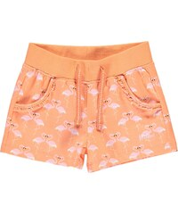 Lee Cooper All Over Print Shorts Infant Girls AOP Flamingo
