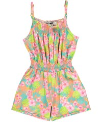 Lee Cooper All Over Print Jumpsuit Infant Girls AOP Tropical