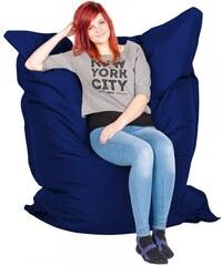 SuperPytel dětský sedací vak 144×180 cm, tmavě modrý