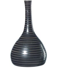 Váza CUBA ASA Selection tmavě hnědá, 34 cm