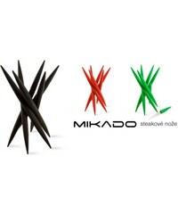 Ostatní Steakové nože Mikado, červené