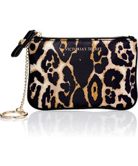 Victoria´s Secret leopard print mini wristlet taštička