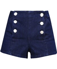 Miss Selfridge Petite SAILOR Jeans Shorts indigo