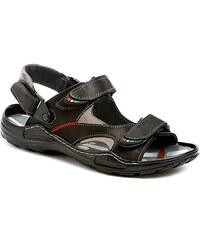 Mateos 362 černé pánské sandály