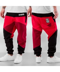 Dangerous DNGRS Locotay Sweatpants Red/Black