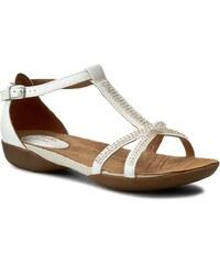 Sandály CLARKS - Raffi Star 261139864 White Leather