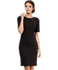 Černé šaty MOE 013