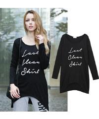 Lesara T-shirt à manches longues et capuche