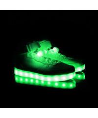 Lesara LED-Schnürsenkel - Grün