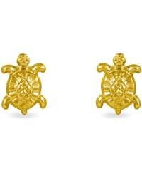 Histoire d'Or Boucles d'oreilles en or - jaune