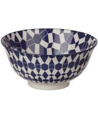 Pomax Dzipa - Bol en porcelaine - bleu