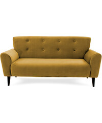Vivonia Glami style - Warehouse 1 Pohovka pro tři Klara Mustard