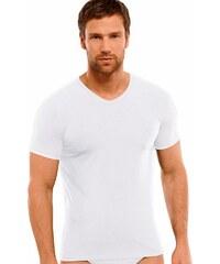 Schiesser T-Shirt mit tiefem V-Ausschnitt