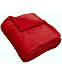 Super soft deka Dadka - vínová 150/100