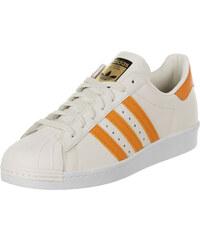 adidas Superstar 80s chaussures off white/eqt orange