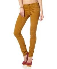 Arizona Damen Cordhose Slim-Fit gelb 34,36,38,40,42,44,46,48