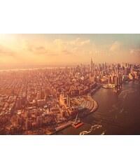 Fototapete Manhattan 254/184 cm KOMAR grau