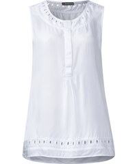 Street One - Blouse ajourée Gloria - White