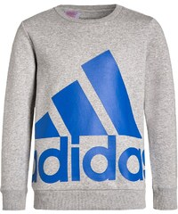 adidas Performance ESSENTIALS Sweatshirt medium grey heather/blue