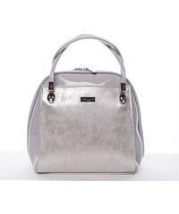 Maggio Luxusní kabelka do ruky Lillie, stříbrná