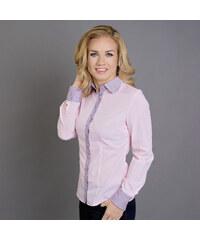 Dámská košile Willsoor 5569 v růžové barvě