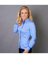 Damská košile Willsoor 5794 v modré barvě