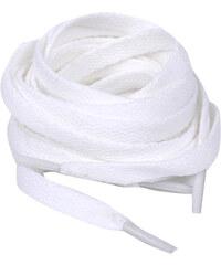Lesara Breite Schnürsenkel - Weiß