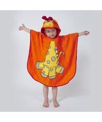 Ifilhome Zanimo - Poncho de bain - orange