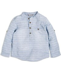 Lindex Chlapecká pruhovaná košile - modrá
