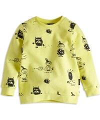 Lindex Dětská mikina s potiskem Moomin - žlutá